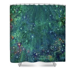 In Glory Shower Curtain