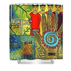 In Good Faith Shower Curtain