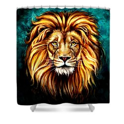 Shower Curtain featuring the digital art In Honor Of Cecil by Karen Showell
