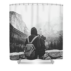 Yosemite Love Shower Curtain by JR Photography