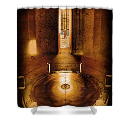 Paris, France - In Memory Shower Curtain