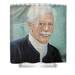 In Memory Of Uncle Bud Shower Curtain