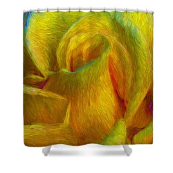 In Memory Of Vincent Shower Curtain