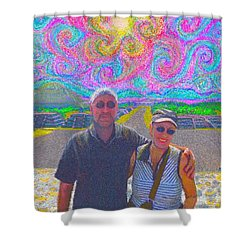 In Mexico Shower Curtain by Hidden Mountain
