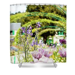 In Monet's Garden Shower Curtain