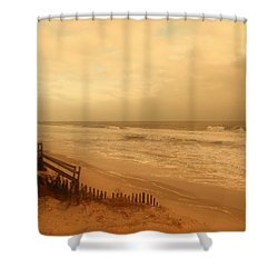 In My Dreams The Ocean Sings - Jersey Shore Shower Curtain