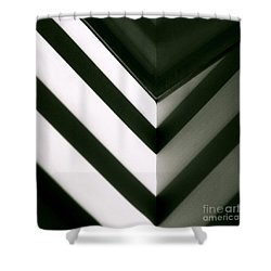 In Or Out Shower Curtain by CML Brown