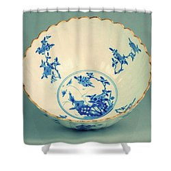 Extremely Nice And Rare Piece From The Kangxi Period Shower Curtain