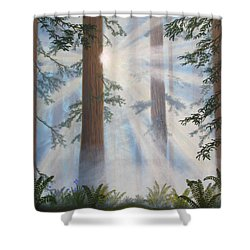 In Paradisum II Shower Curtain