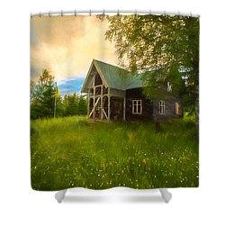 Shower Curtain featuring the photograph In Peace In Your Grace by Rose-Maries Pictures