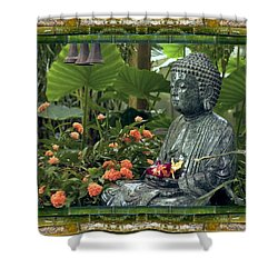 In Repose Shower Curtain by Bell And Todd