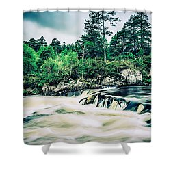 In Retreat Shower Curtain