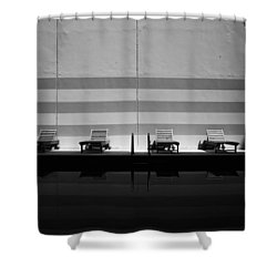 In Royal Solitude  Shower Curtain by Jez C Self
