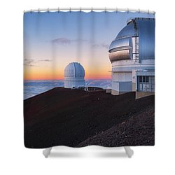 In Search Of Gemini Shower Curtain by Ryan Manuel