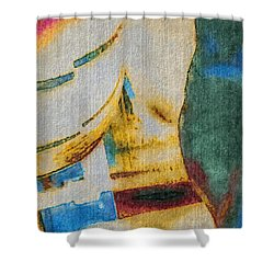 Shower Curtain featuring the photograph In/still by William Wyckoff