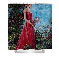 In Summer Garden Shower Curtain by Sergey Ignatenko