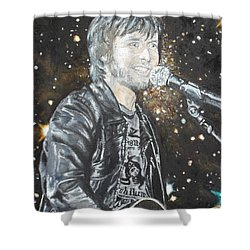 In Syncron Shower Curtain by Agnes V