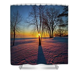 Shower Curtain featuring the photograph In That Still Place by Phil Koch