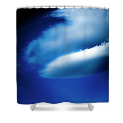 Shower Curtain featuring the photograph In The Air by Eric Christopher Jackson