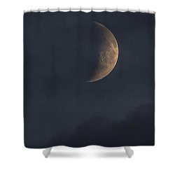 Shower Curtain featuring the photograph In The Blue Hours by Alex Lapidus