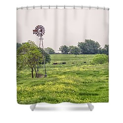 In The Country Shower Curtain