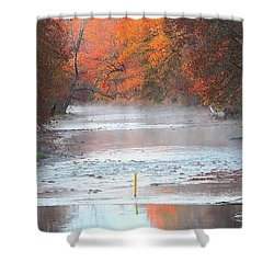 In The Early Morning Mist Shower Curtain