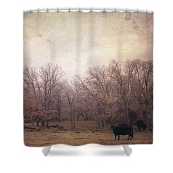 In The Field Shower Curtain by Toni Hopper