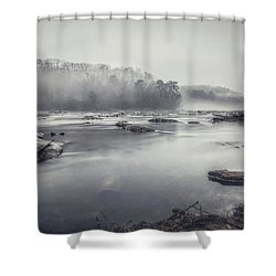 In The Fog  Shower Curtain