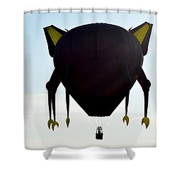 Shower Curtain featuring the photograph In The Grasp by AJ Schibig