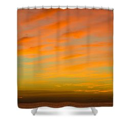 In The Heat Of The Night Shower Curtain by Rene Triay Photography