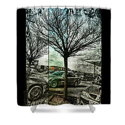 Shower Curtain featuring the photograph In The Here And There by Mimulux patricia no No