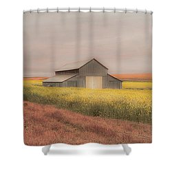 In The Horizon Shower Curtain