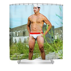 In The Land Shower Curtain