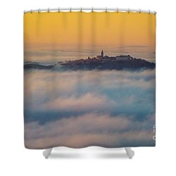 In The Mist 3 Shower Curtain