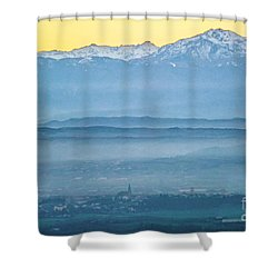 In The Mist 4 Shower Curtain