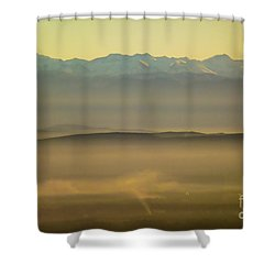 In The Mist 5 Shower Curtain