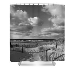 In The Mood Shower Curtain by Dianne Cowen