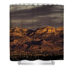 In The Morning Light Shower Curtain by Ed Clark