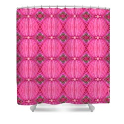 Shower Curtain featuring the photograph In The Pink by Debbie Stahre