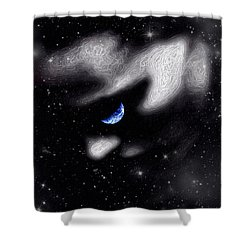 In The Quiet Of Your Mind Shower Curtain
