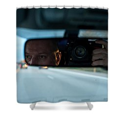 In The Road Shower Curtain