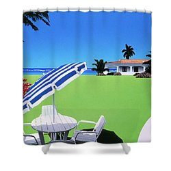 In The Shade Shower Curtain by David Holmes