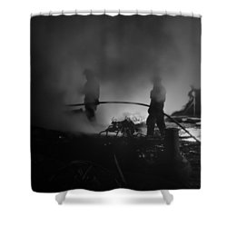 In The Smoke Shower Curtain