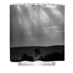 Shower Curtain featuring the photograph In The Spotlight by Bill Wakeley