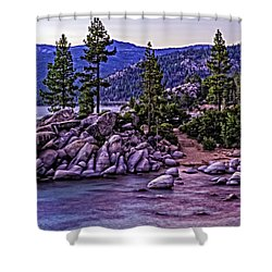 In The Still Of Dusk Shower Curtain