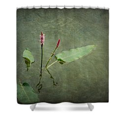In The Stillness... Love Whispers My Name Shower Curtain
