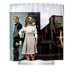 In The Window  Shower Curtain