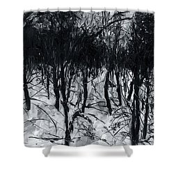 In The Woods 7 Shower Curtain