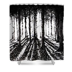 In The Woods 2 Shower Curtain