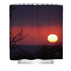 Shower Curtain featuring the photograph In The Zone by Alex Lapidus